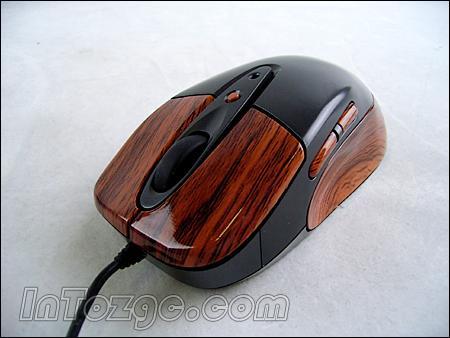 中国制造的木纹鼠标!新贵游戏鼠标赏析