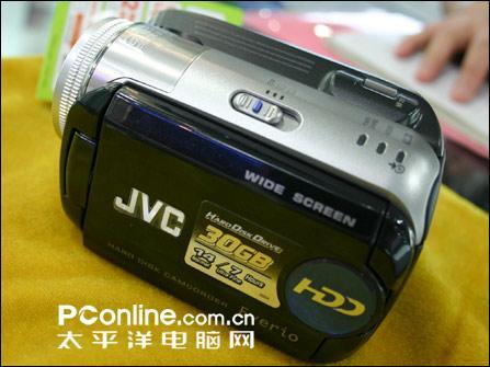 不须电脑直接刻录DVD,JVC顶级硬盘DV到