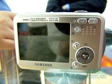 韩系首款卡片相机三星i5相机仅2200元