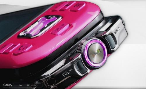 5GB海存储索爱发布第2款滑盖Walkman手机