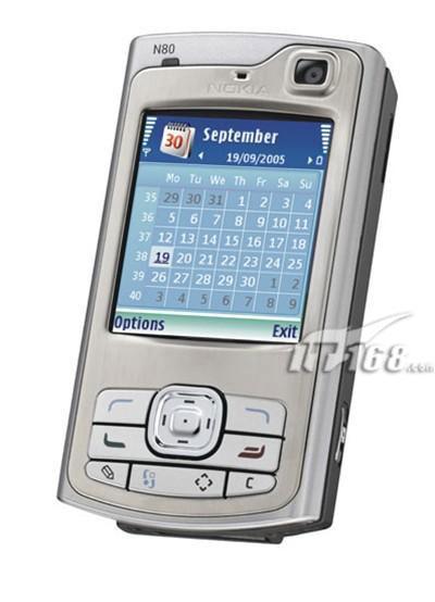 超级奢侈诺基亚全新3G手机N80仅售5900元