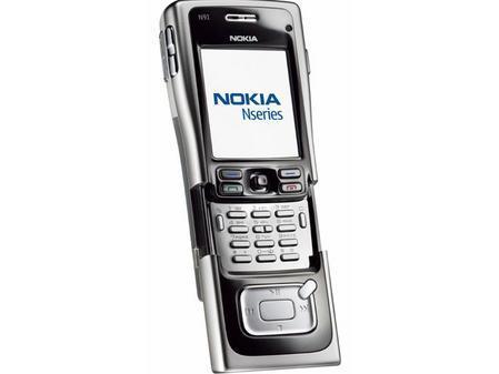 4GB硬盘诺基亚200万像素N91仅售7250元