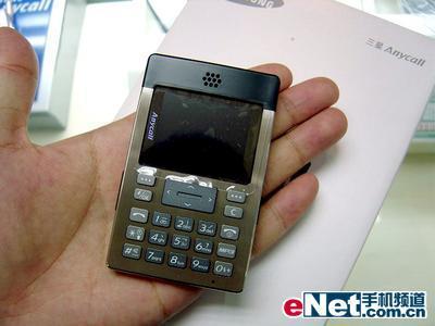 图为:三星P308手机-特大喜讯 平薄三星P308半价获得