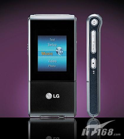 专为男士打造LG发布最新款MP3播放器