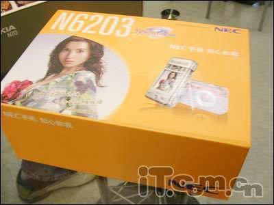 时尚经典NEC音乐手写机N6203仅售1790元