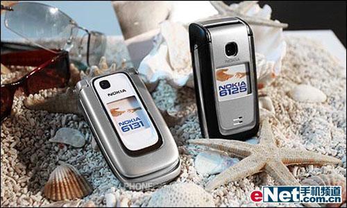 轻巧外型 Nokia6125-1600万色屏幕 诺基亚新机双连发