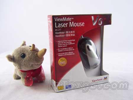 竞技神兵利器!优派V6激光鼠标仅95元!
