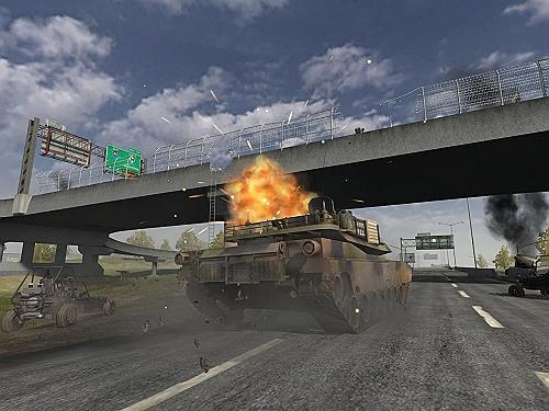 体验中国侵略美国!战地2狂暴装甲多图