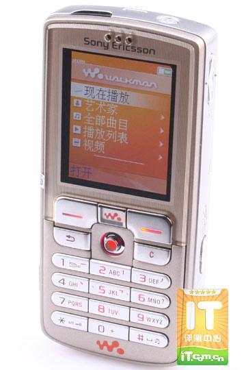 香槟Walkman索尼爱立信W700全国首测