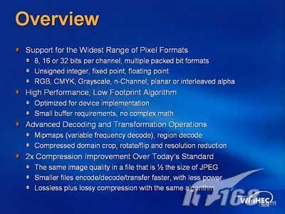 微软推出为数码相机新图片格式WMP