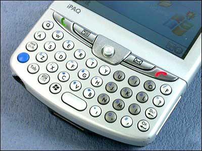 支持GPS定位惠普顶级智能机6515亮相