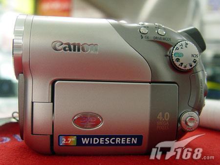 DVD最高级别佳能宽屏摄象机DC40小跌
