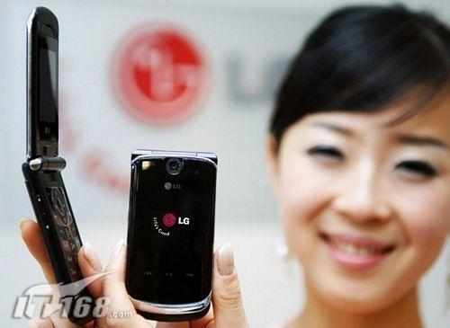 品味巧克力LG发布轻触感应翻盖手机KG810