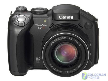12倍防抖长焦相机佳能S3IS降价200元