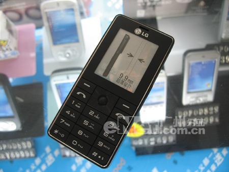 130万像素LG超薄直板机KG328仅售2200元