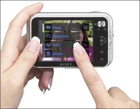 触摸3.0――索尼DSC-N1新鲜体验
