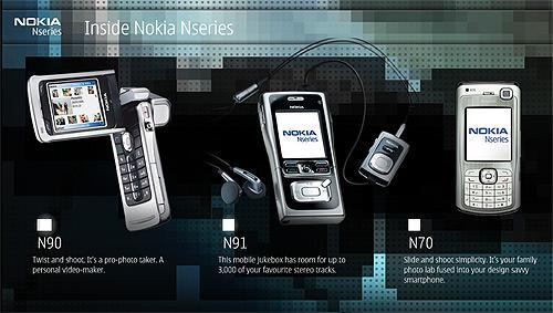 九大亮点造S60旗舰诺基亚N70与N80完全对比