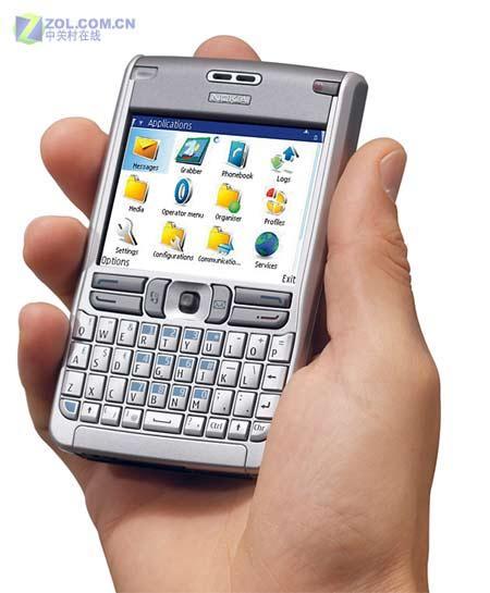 全功能键盘S60商务智能机诺基亚E61评测