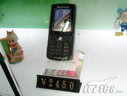 超值之选索爱200万像素K750c只要2450元