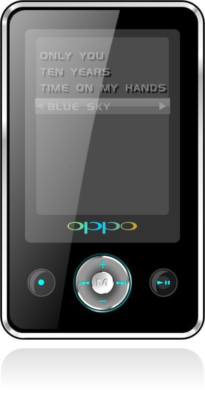 又来一款飞芯视频MP3OPPO推新款X29M