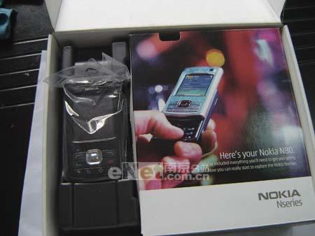 时尚滑盖机诺基亚320万像素N80降至4780