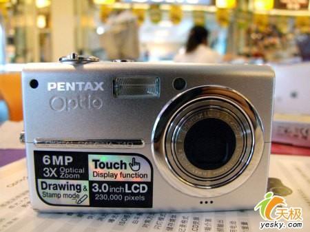 触控相机再添新军宾得大屏T10售3280