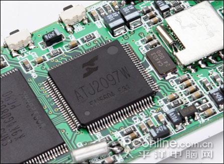 mp内部硬件电路结构