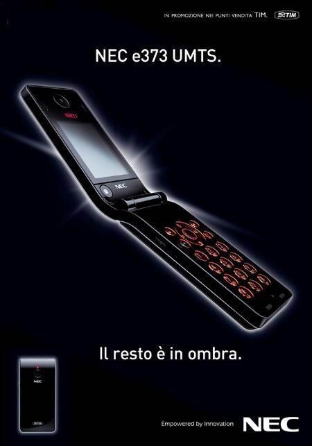 坚定拥护者NEC推出超薄翻盖手机E373