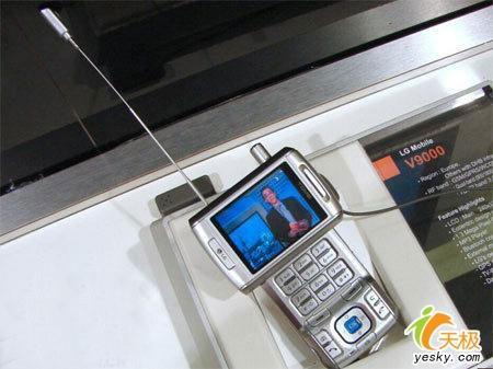 支持T-DMBLG欧洲发布UMTS机V9000