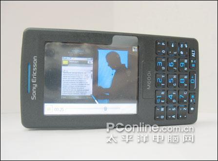 15mm超薄机身索爱娱乐智能机M600i到货