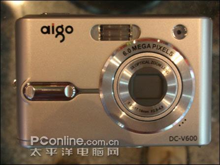 爱国者600万像素数码相机仅售1599