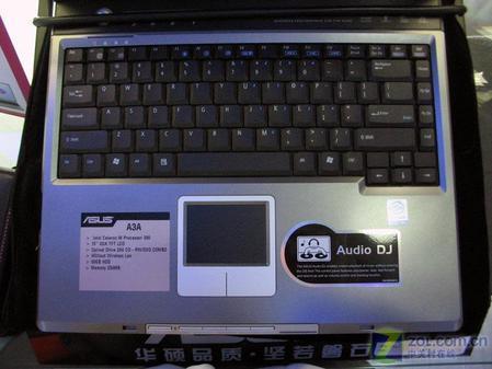 华硕笔记本配1.7GHz处理器售价5999元
