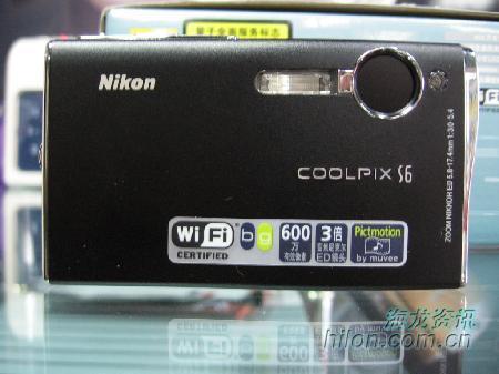 曲线完美的卡片相机尼康S6卖3260元