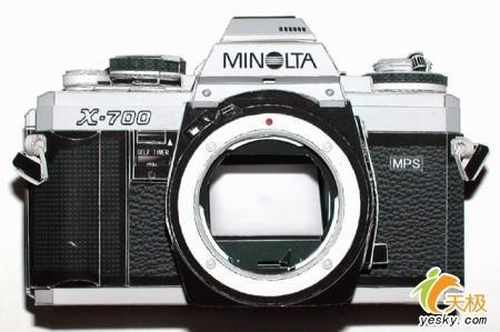 几可乱真日本最强手工纸制相机面世