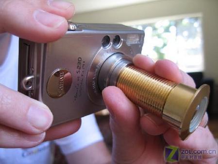 几十元猫眼镜头改造的超广角数码相机