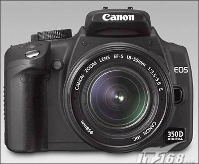 先作试探佳能350D数码相机小降200元