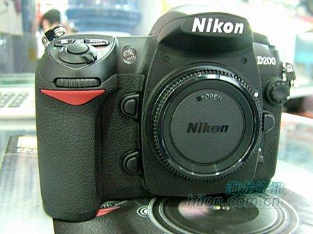 高端镁合金底盘尼康D200相机卖14000元
