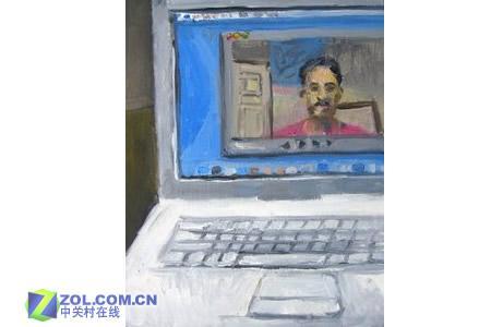 iPod油画艺术家眼中现代科技作品欣赏