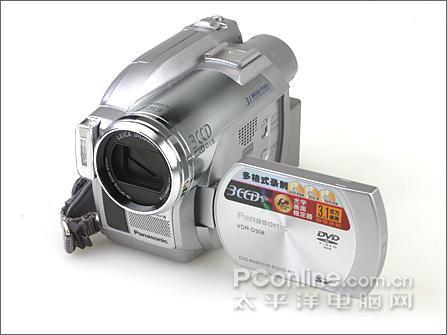 3CCD的艳丽松下DVD摄像机D308试用手记