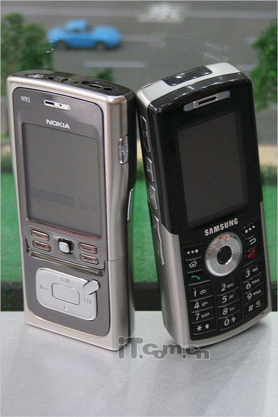 存储之王诺基亚N91与三星i308终极对决(6)