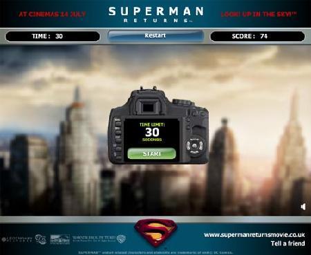 抓拍超人身影精彩数码摄影游戏推荐