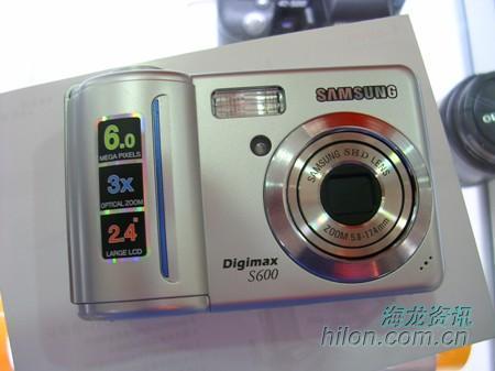 低价主义相机三星S600现在只售1700元