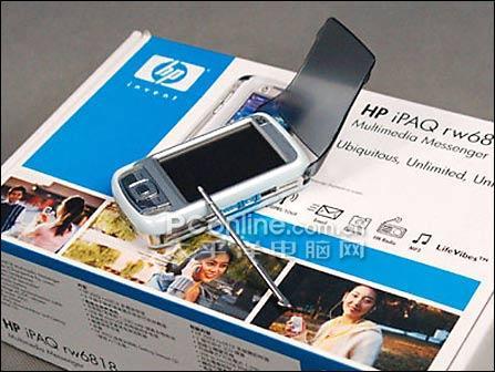 200万像素惠普PPC智能手机RW6818售4100