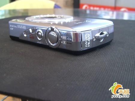 大屏幕诱惑佳能时尚卡片机IXUS65降价