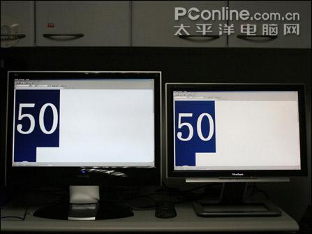 22寸宽屏5毫秒响应优派液晶VX2235GM测试(8)