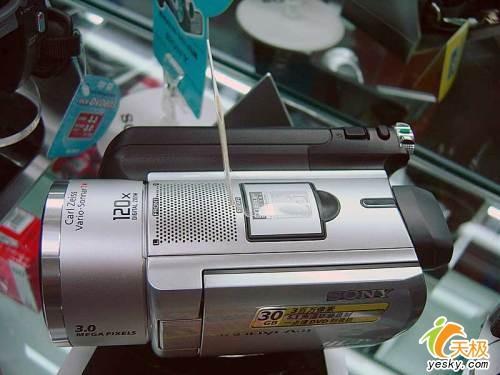 索尼硬盘摄像机先锋SR100E套装9200元