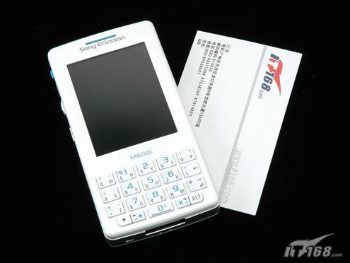 纯商务智能手机索爱时尚机王M608评测