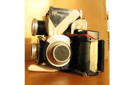 创意无限极其另类的多镜头照相机欣赏