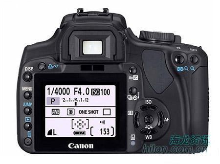 便宜佳能EOS400D相机上市售价泄露