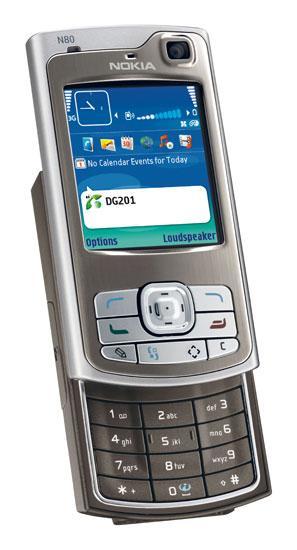 可用作VoIP手机诺基亚将推互联网版N80